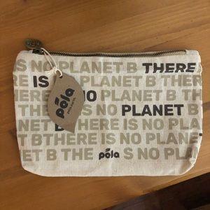 "Handbags - Pela ""No Planet B"" cosmetics bag"